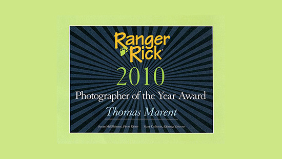 Ranger Rick Photographer of the Year